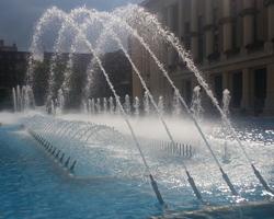 Conception et étude de fontaines et jeux d