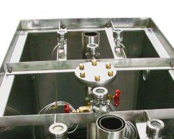 Cuvelage Inox pour fontaine prête à poser