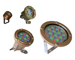 Eclairages LED immergeables norme IP68