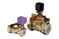 Electrovannes de régulation pour fontaines et jets d