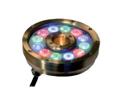 anneau 12 LED submersible