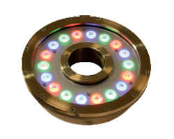 Grand anneau éclairant 18 LED