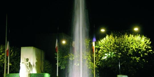 Fontaine Chateauroux (36) matériel Aquaprism © Aquaprism