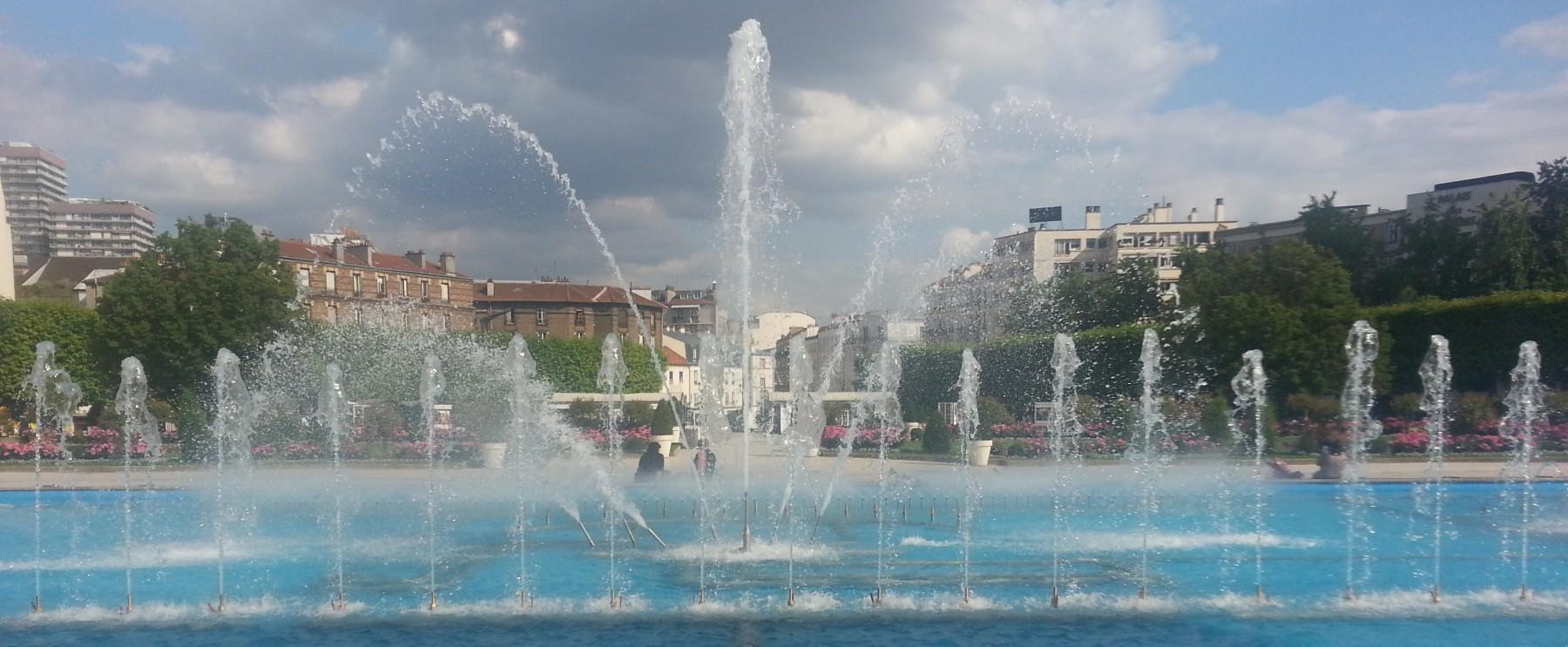 Fontaine Puteaux (92) matériel Aquaprism © Aquaprism