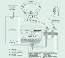 Schéma installation éclairage LED