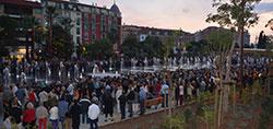 Inauguration Coulée Verte Nice