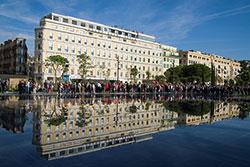 Miroir d'eau Promenade du Paillon Nice