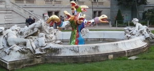 Aquaprism Fontaine Niki de Saint Phalle Grand Palais