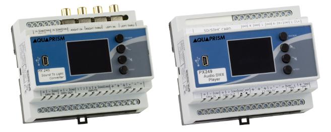 Lecteur MP3 et analyseur numérique pour spectacles aquatiques